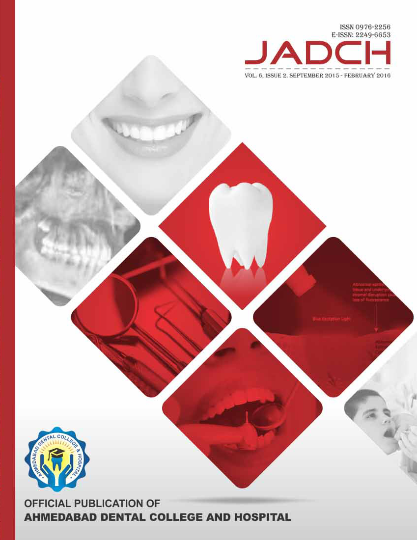 ADCH JOURNAL VOL-6 ISSUE-2
