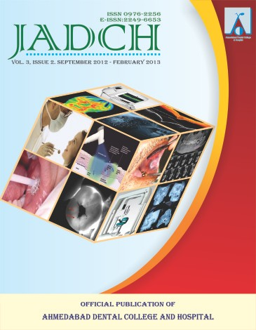 ADCH Journal - Vol 3 - Issue 2